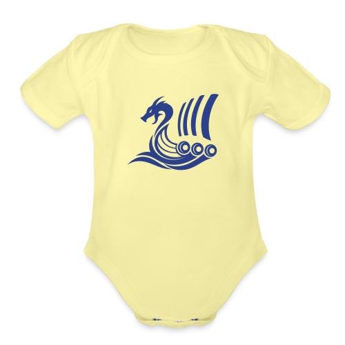 Raido Icon - Organic Short Sleeve Baby Bodysuit