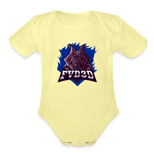FVD3D Team Shop - Organic Short Sleeve Baby Bodysuit