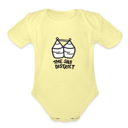 The Silo District - Organic Short Sleeve Baby Bodysuit