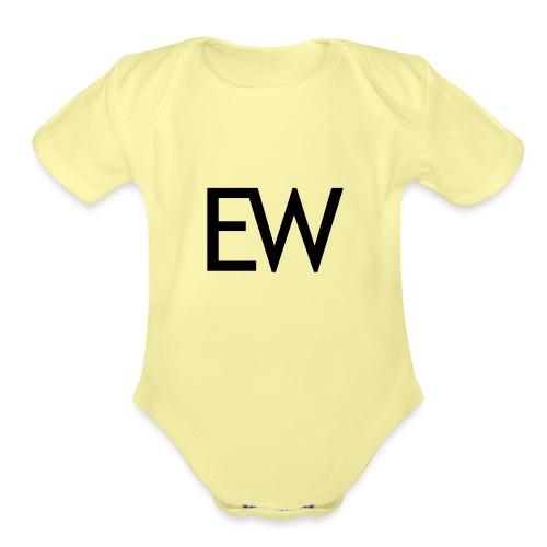EDM Weekly - Organic Short Sleeve Baby Bodysuit