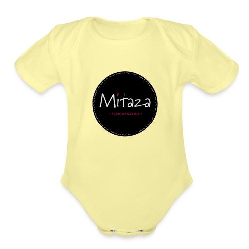 MITAZA - Organic Short Sleeve Baby Bodysuit