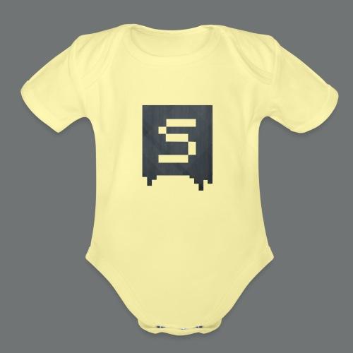 Isivisi Logo - Organic Short Sleeve Baby Bodysuit