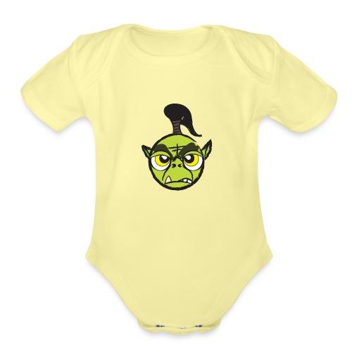 Warcraft Baby Orc - Organic Short Sleeve Baby Bodysuit