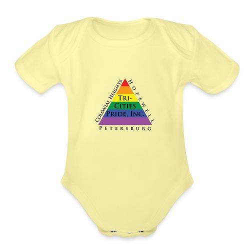 TCP NEW LOGO TRANSPARENT - Organic Short Sleeve Baby Bodysuit
