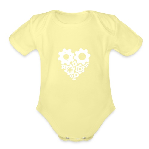 gearheart - Organic Short Sleeve Baby Bodysuit