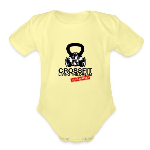 CROSSFIT LTQD - Organic Short Sleeve Baby Bodysuit