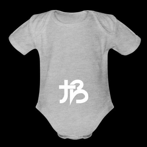tb1 - Organic Short Sleeve Baby Bodysuit