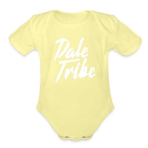 Dale Tribe Logo - Organic Short Sleeve Baby Bodysuit