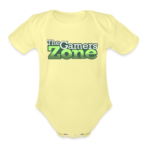 THE GAMERS ZONE - Organic Short Sleeve Baby Bodysuit