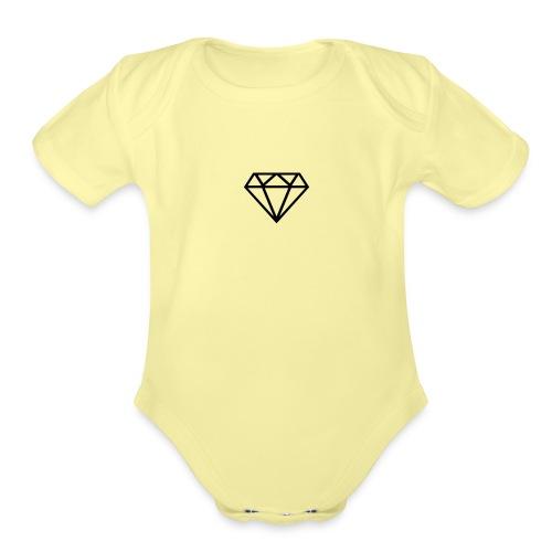 IMG 1460 - Organic Short Sleeve Baby Bodysuit