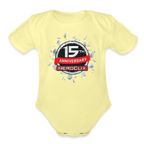 HeroClix 15th Anniversary - Organic Short Sleeve Baby Bodysuit