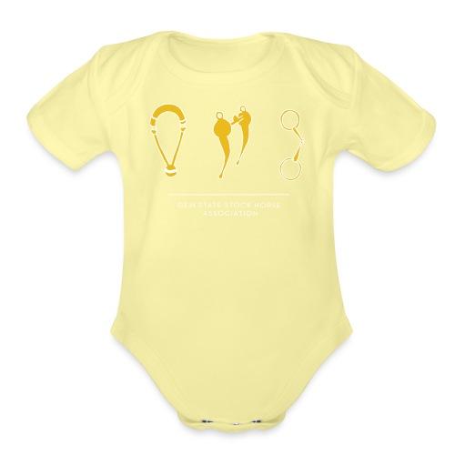 Traditions - Organic Short Sleeve Baby Bodysuit