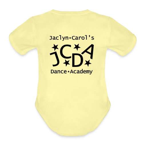 JCDA_Logo - BW2015 - Organic Short Sleeve Baby Bodysuit