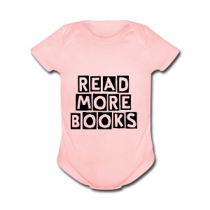 Read More Books - Short Sleeve Baby Bodysuit