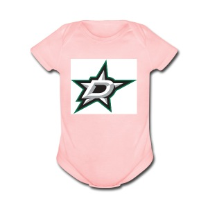 Counting Stars - Short Sleeve Baby Bodysuit