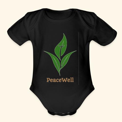 PeaceWell - Support your vendor! - Organic Short Sleeve Baby Bodysuit