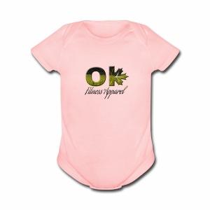 Okanagan Fitness Apparel - Short Sleeve Baby Bodysuit