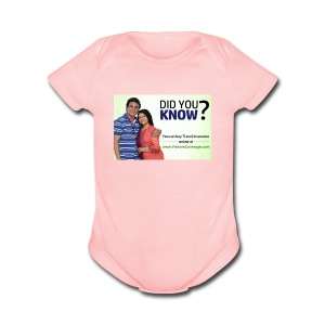 did you know - Short Sleeve Baby Bodysuit