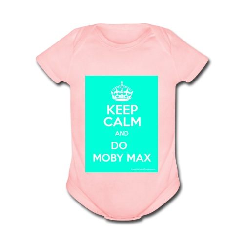 The moby maxers shirt- patrick - Organic Short Sleeve Baby Bodysuit