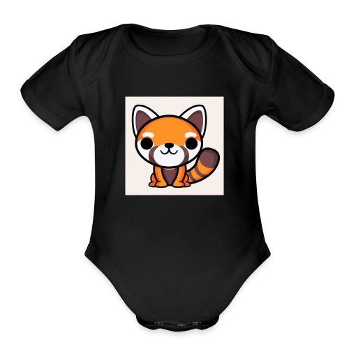 RedPandaPlayz17 - Organic Short Sleeve Baby Bodysuit