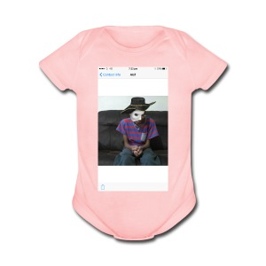 Clothes For Akif Abdoulakime - Short Sleeve Baby Bodysuit