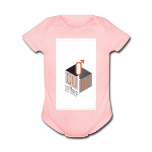 Ocube - Short Sleeve Baby Bodysuit