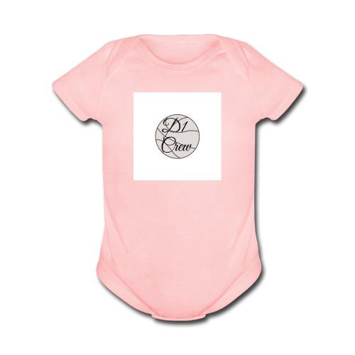 D1 Crew - Organic Short Sleeve Baby Bodysuit