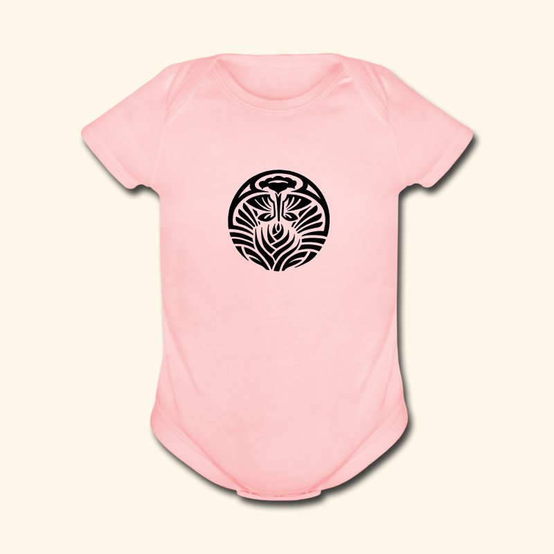 Tribal Tropic - Short Sleeve Baby Bodysuit