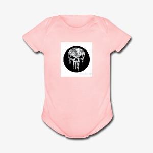 ADAM619BRO - Short Sleeve Baby Bodysuit