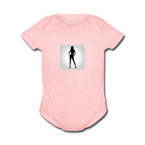 Da bomb - Organic Short Sleeve Baby Bodysuit