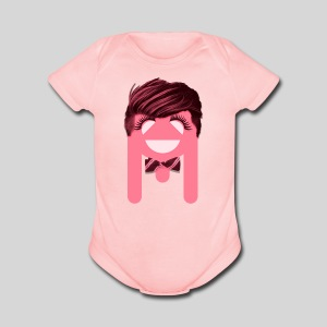 ALIENS WITH WIGS - #TeamBa - Short Sleeve Baby Bodysuit