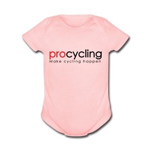procycling luxembourg - Short Sleeve Baby Bodysuit