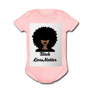 Black lives matter - Short Sleeve Baby Bodysuit