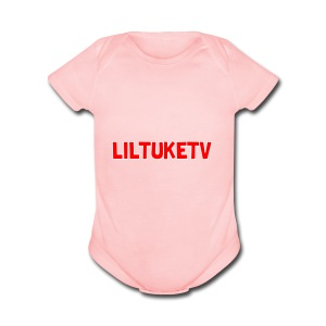 LilTuke's merch - Short Sleeve Baby Bodysuit