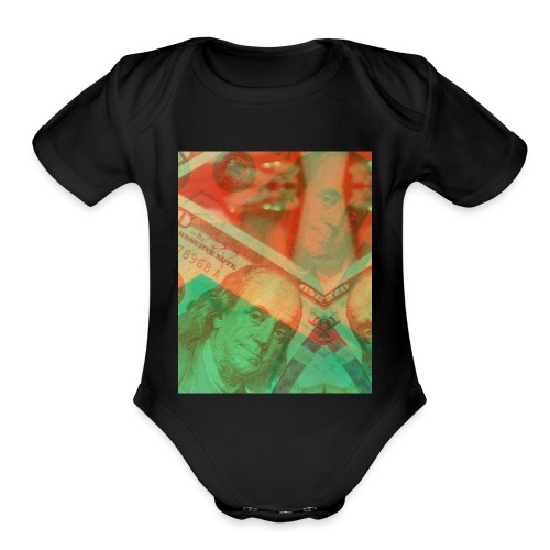 Benjy frank - Organic Short Sleeve Baby Bodysuit