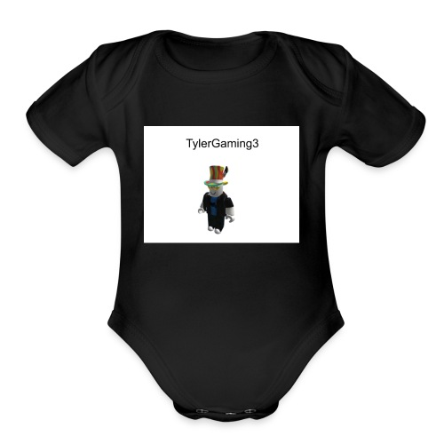 TylerGaming3 Roblox - Organic Short Sleeve Baby Bodysuit