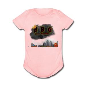 Only The BBG Family - Short Sleeve Baby Bodysuit