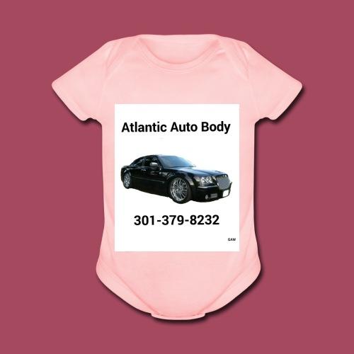 Atlantic - Organic Short Sleeve Baby Bodysuit