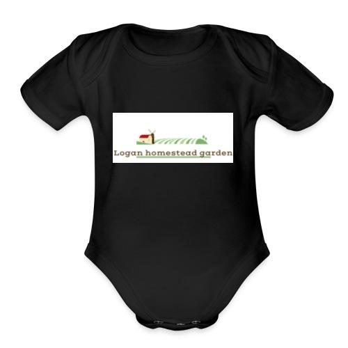 Homesteadlogo - Organic Short Sleeve Baby Bodysuit