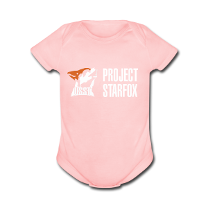 Project STARFOX Banner - Short Sleeve Baby Bodysuit