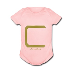 Cyberonic Limited Gold Apparel - Short Sleeve Baby Bodysuit