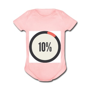10% Album - Short Sleeve Baby Bodysuit