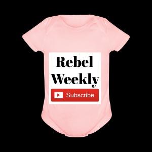 Rebel Weekly - Short Sleeve Baby Bodysuit