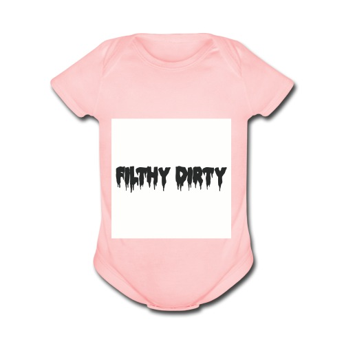 clothing_2 - Organic Short Sleeve Baby Bodysuit