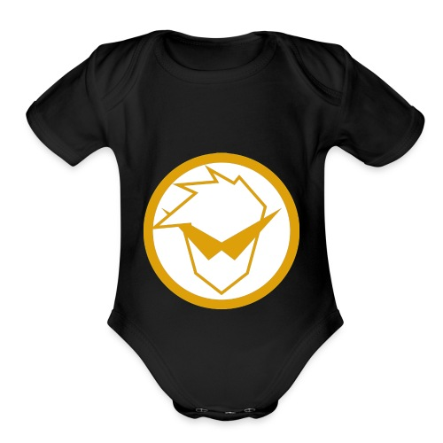 FG Phone Cases (Pure Clean Gold) - Organic Short Sleeve Baby Bodysuit