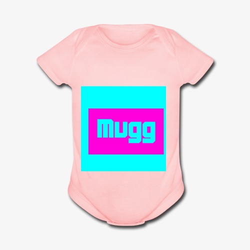 mugg - Organic Short Sleeve Baby Bodysuit