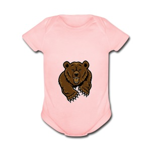 Grizzly Vlogs - Short Sleeve Baby Bodysuit