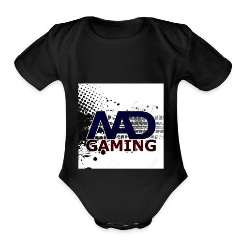 Mad Gaming - Organic Short Sleeve Baby Bodysuit