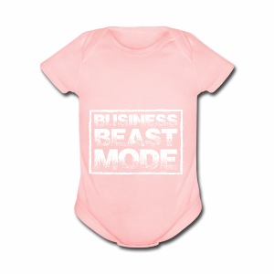 Business Beast - Short Sleeve Baby Bodysuit