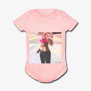 Fitness Model - Short Sleeve Baby Bodysuit